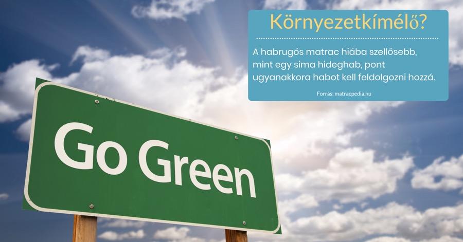 Matrac és környezettudatosság