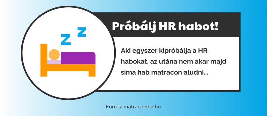HR nagyrugalmasságú hideghabok