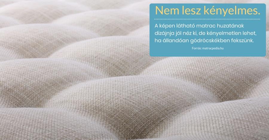 lágy matrac huzata steppelve