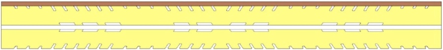 kétoldalas matrac