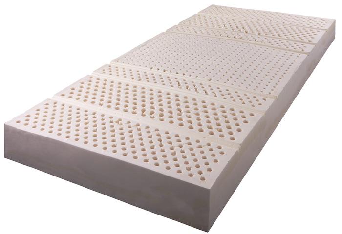 zónázott latex matrac