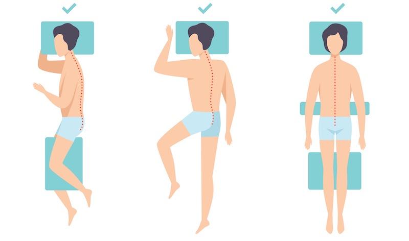 derékfájdalom és a matrac alváspóz
